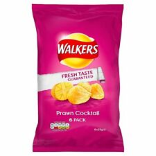 Walkers Prawn Cocktail Crisps - 6 x 25g - Sold Worldwide from UK