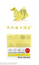 *Suck UK Origami Sticky Notes Mini Notepad Note Memo Office Fun Work Gift Post*