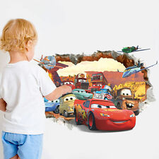 NEW LIGHTNING MCQUEEN WALL DECAL Disney Cars Movie Stickers Racing Home Decor