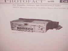 1970 OLDSMOBILE TORONADO 88 CUTLASS 442 CONVERTIBLE AM-FM RADIO SERVICE MANUAL