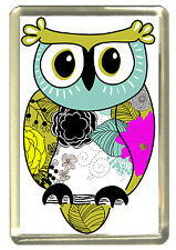 Owl Mum Fridge Magnet - Wildlife