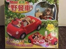 Little Mimi Picnic Red Car Toy Set Korean Barbie Doll Toy for Girl Kids NEW
