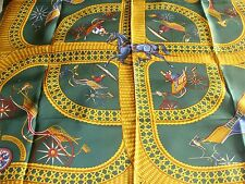 Hermes silk scarf, Voitures Paniers, New with box,  absolutely stunning!