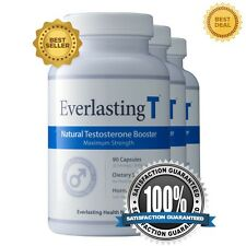 Everlasting T 3Pack - Testosterone Booster - Increased Sex Drive and Fat Burner