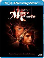 THE COUNT OF MONTE CRISTO (2002 Jim Caviezel)  Blu Ray - Sealed Region free