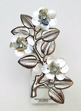 1 BBW Wallflower Mother of Pearl SHELL FLOWER Diffuser Unit Plug In Holder