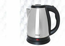 1.8L 60oz Cordless Electric Tea Kettle Pot Portable Hot Water Stainless Steel