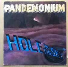 PANDEMONIUM LP: HOLE IN THE SKY (NETHERLANDS; Roadrunner Records ‎– RR 9727)