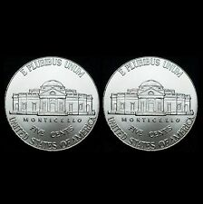 2015 P+D Jefferson Nickel Set ~ Uncirculated U.S. Mint Coins from Bank Roll