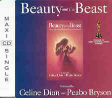 CELINE DION and PEABO BRYSON - Beauty and the beast 2TR CDM 1991 BALLAD / DISNEY