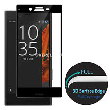 3D Curved Full Coverage Tempered Glass Film Protector For Sony Xperia Model S002