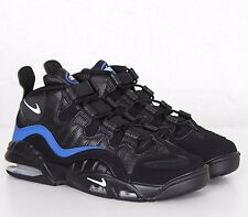 NIKE AIR MAX Sensation 'Chris Webber' Black Royal Leather Size UK 8 EU 42.5 New