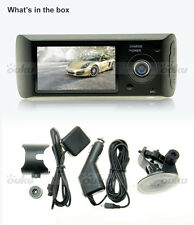 "2.7"" X3000 Dual Lens Dashboard Camera Car DVR GPS G-sensor Dash Cam Recorder"