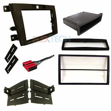 Radio replacement Dash Kit Single/Double-DIN w/Pocket & Harness for Mazda CX-7
