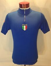 C353 De Marchi Italia Italy Wool Acrylic Blend Cycling Spinning Jersey Size S