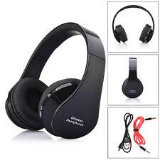 Plegable Inalámbrico Estéreo Bluetooth Headset Manos Libres Auriculares Micro
