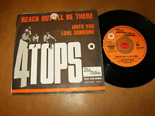 4 TOPS - REACH OUT I'LL BE THERE - 45 PS HOLLAND / LISTEN - TAMLA MOTOWN POPCORN