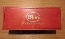 BLUE microphone wood BOX fits Baby Bottle condenser mic (others?) EXC