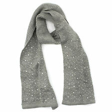 Simply Vera Wang Rhinestones Winter Scarf for Women - 71""