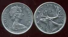 CANADA 25 cents  1977 ANM