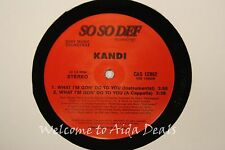 Kandi, What I'm Gon' Do to you (VG) LP 12""