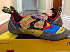 LA SPORTIVA OXYGYM MEN'S US SIZE 8.5 / EUR 41.5 ROCK CLIMBING BOULDERING SHOES