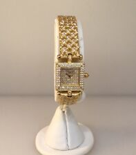 VAN CLEEF & ARPELS CLASSIQUE GOLD & DIAMOND JEWELRY LADIES WATCH REF. 122945!!!!