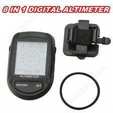 8 In 1 Digital LCD Compass Altimeter Barometer Thermo Temperature Calendar A09