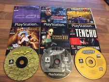 PS1: LOT DE 9 JEUX EN LOOSE        (lot 2)