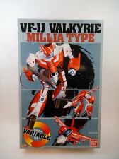 Bandai 1/72 scale Macross VF-1J Millia Variable Fighter NMIB Robotech Miriya