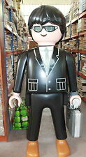 XXL Big Size PLAYMOBIL AGENTE SEGRETO SECRET AGENT 150 CM very rare