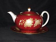 Rare Wedgwood Tonquin Ruby Teapot