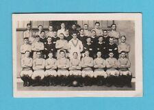 FOOTBALL - CHUMS -  SCARCE FOOTBALL CARD  -  THE  CHELSEA  TEAM  OF  1922
