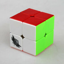 New Original Colorful Cyclone Boys 2x2x2 Magic Cube Professional Stickerless Hot