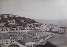 "ANTIQUE THREE ALBUMEN BRITISH PHOTOGRAPHS ""TORQUAY VIEWS AND COASTLINE"" 1893"