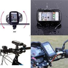 Waterproof Bicycle Bike Handlebar Mount mobile Phone Holder For iPhone 5S