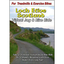FITNESS SCOTLAND CYCLING SCENERY BIKE DVD JOGGING EXERCISE FITNESS VIDEO