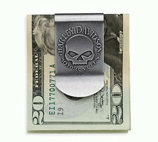 HARLEY DAVIDSON SKULL MONEY CLIP   NEW