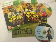 2 XBOX GAMES ORIGINAL XBOX RED DEAD REVOLVER + 360 REDEMPTION UNDEAD NIGHTMARE