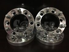 "4 Toyota 1.0"" Wheel Spacers Adapters fits all 6 lug pickups WS 6X5.5 1"""