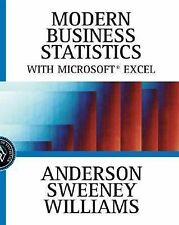 NEW - Modern Business Statistics with Microsoft Excel