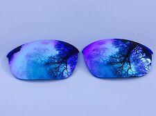Nuevo Reemplazo de Espejo Grabado Polarizadas Azul Hielo Lentes Oakley Media Chaqueta 2.0