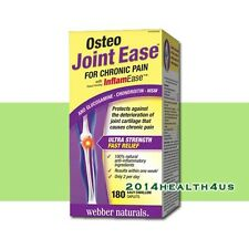 Webber Naturals Osteo Joint Ease with InflamEase  180 Caplets