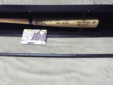 PETE ROSE Autograph HAND SIGNED #4256 RALWINGS  BAT w DisplayCase w/proof