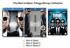 MEN IN BLACK TRILOGY BLU RAY TRIPLE PACK SET PART 1 2 3 WILL SMITH Box New UK