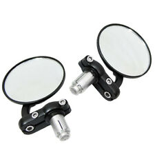 "7/8"" Handlebar Bike Motorcycle ATV Aluminum Rearview Bar End Side Mirror"