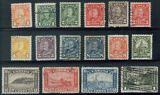 TMM* 1930-31 Canada Stamp collection/lot S#162-77 used/hinge/medium cancel