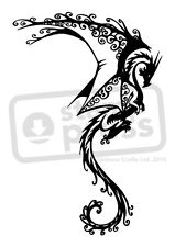 A7 'Swirled Dragon' Unmounted Rubber Stamp (SP003998)