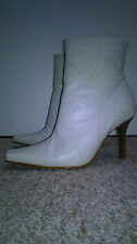New Look Ivory Cream Ankle Boots Size 5