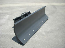 "Bobcat Skid Steer Attachment 96"" 4-way Dozer Blade Snow Plow - 199 Ship"